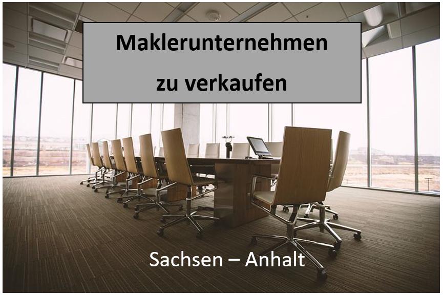 Maklerunternehmen kaufen Sachsen-Anhalt