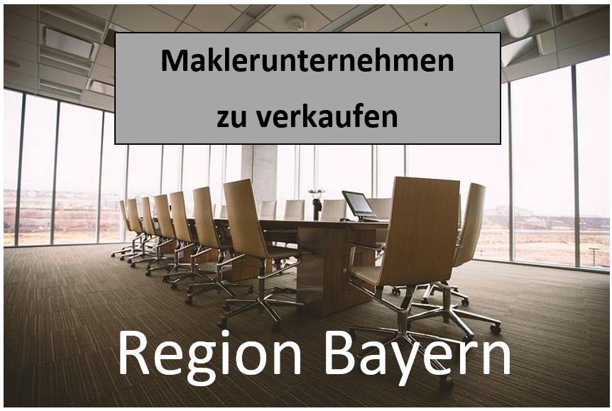 Maklerunternehmen kaufen in Bayern: