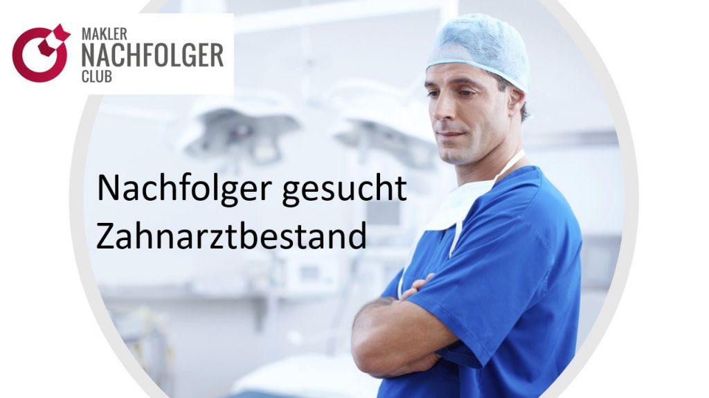Versicherungsbestand kaufen Münsterland mit Schwerpunkt Zahnärzte: